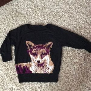 Sweaters - French Connection Animal Print Sweater